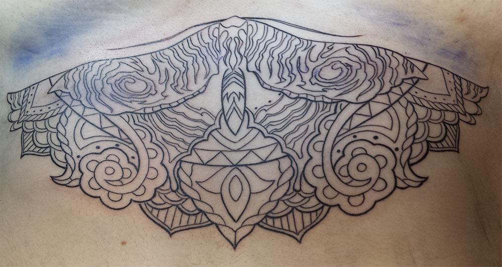 Line Art Tattoos : Tattoo kallisti body art orlando fl u2013 407 955 0731